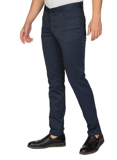 White Stone Minas Gerais Pamuklu Regular Fit Pantolon Vizon Lacivert